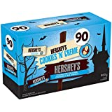 HERSHEY'S Halloween Chocolate Candy Assortment (Milk Chocolate, Cookies 'N' Crème) 90 Count