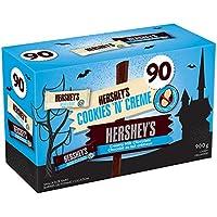 HERSHEY'S Halloween Chocolate Candy Assortment (Milk Chocolate, Cookies 'N' Crème) 90 Count