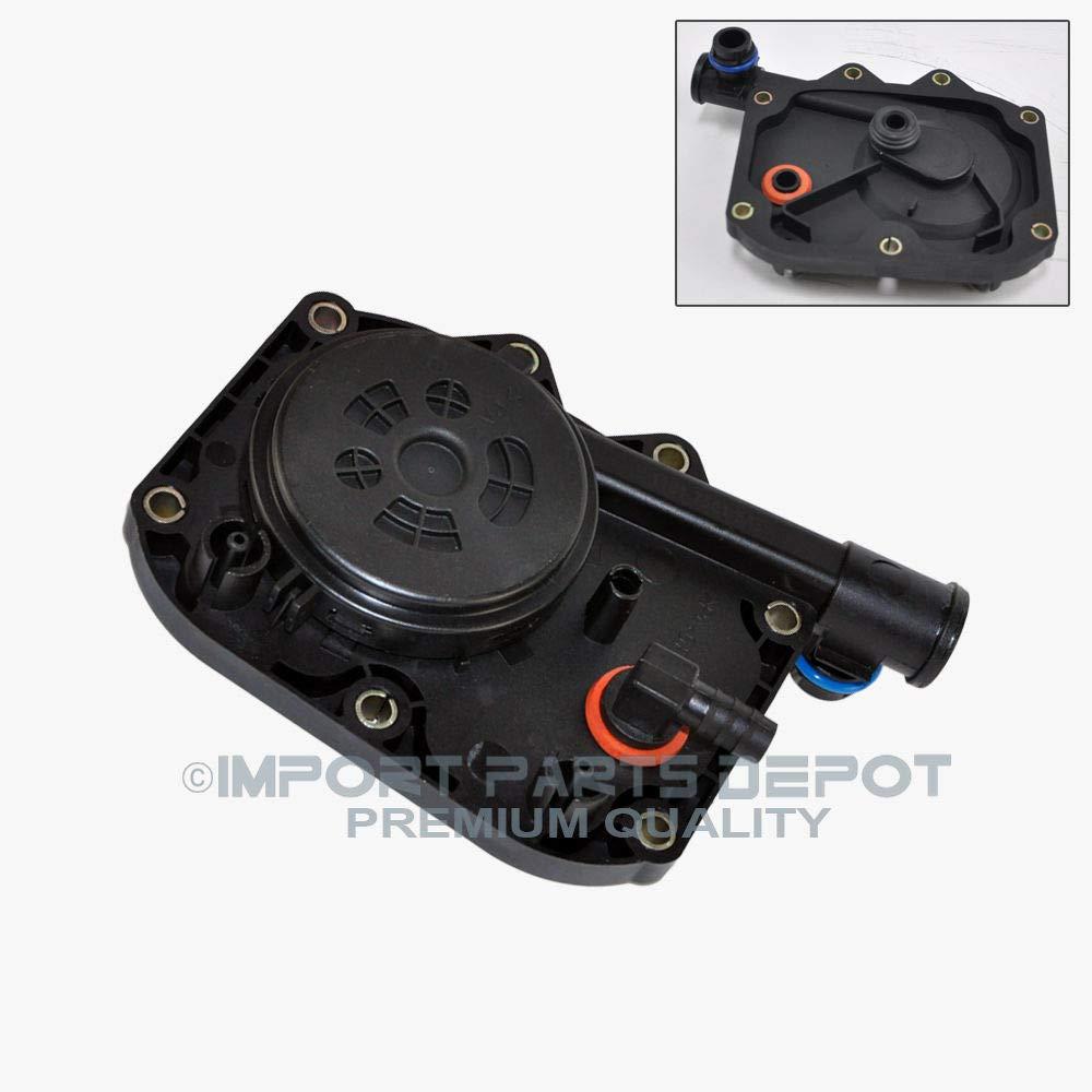 Crankcase Vent Valve PCV Oil Separator for BMW E38 740i 740iL E39 540i E31 840Ci V8 Permium 11617501563 New KOOLMAN KM 11-61-7-501-563 KM