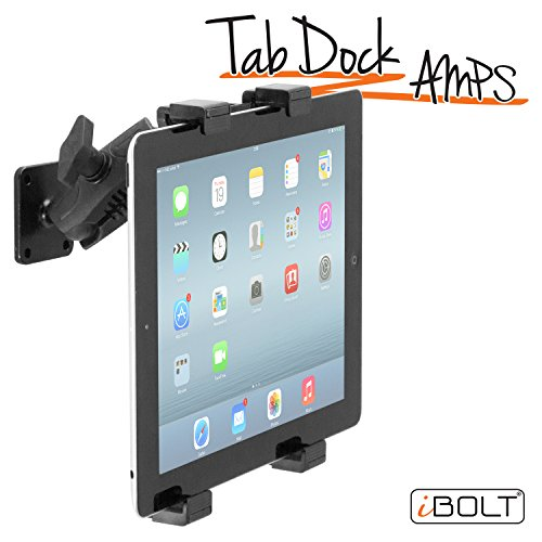 Ibolt Tabdock Amps   Heavy Duty Drill Base Mount For All 7    10  Tablets  Ipad  Samsung Tab  For Cars  Desks  Countertops  Great For Commercial Vehicles  Trucks  Homes  Schools  And Businesses