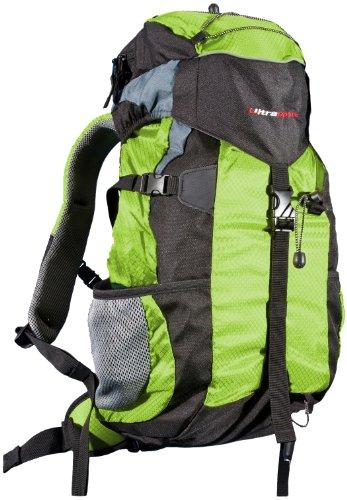 Ultrasport Zaino Outdoor e da Trekking con Protezione Impermeabile, 25 litri, Verde