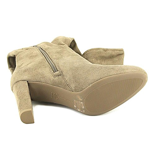 Inc Internationale Concepten Womens Hadli Suede Gesloten Teen Over Knee Fashion Bo. Warme Taupe