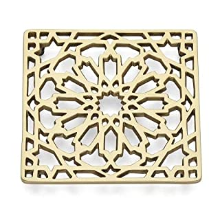 Lenox Global Tapestry Moroccan Trivet, 0.90 LB, Metallic