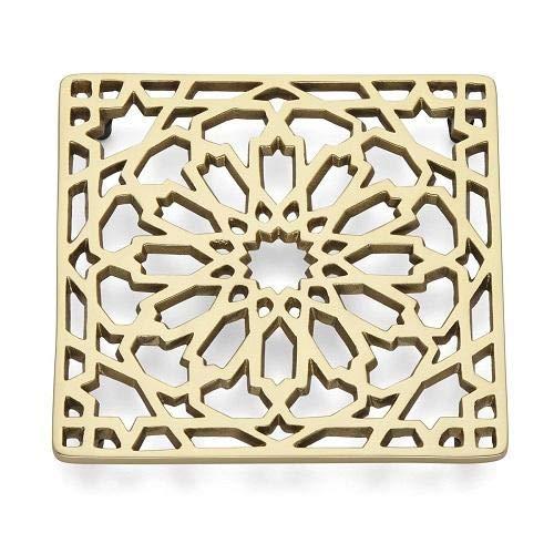 Lenox Global Tapestry Moroccan Trivet, 0.90 LB, Metallic