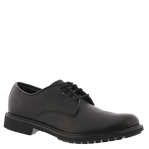 Timberland Stormbuck Waterproof Oxford, Zapatos Hombre, Negro (Black Full-Grain), 49 EU (Talla fabricante: 14 M US)
