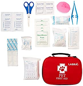 3. Labra Pet Canine K9 Dog First Aid Kit