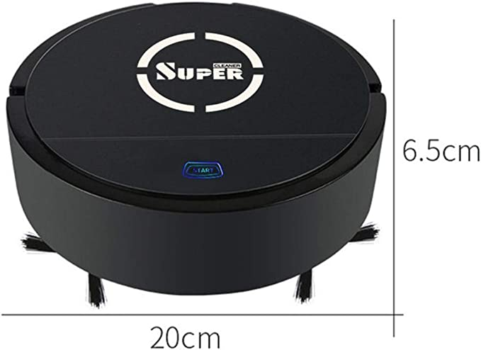 Mumuj Aspiradora de limpieza, Mini Robot Vacuum Dry Wet limpiador ...