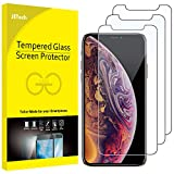 JETech 3-Pack Screen Protector for Apple iPhone XS and iPhone X, Tempered Glass Film