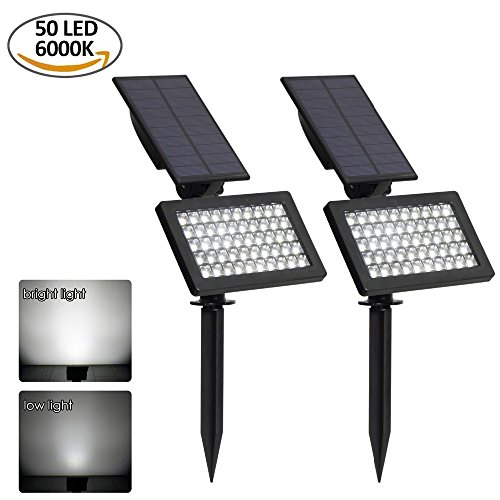Outdoor Garden 3 Led Solar Spot Flood Landscape Light