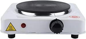 Portable Electric Stove, Energy-saving Safe Induction cooktop for Making Tea Coffee Milk Household etc. 1000W(white US)