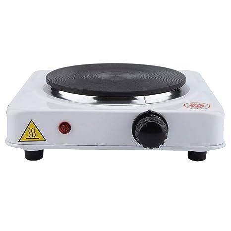 Estufa eléctrica portátil, estufa de inducción segura de ...