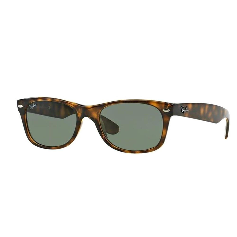 ray ban new  Amazon.com: Ray-Ban RB2132 New Wayfarer Non Polarized Sunglasses ...