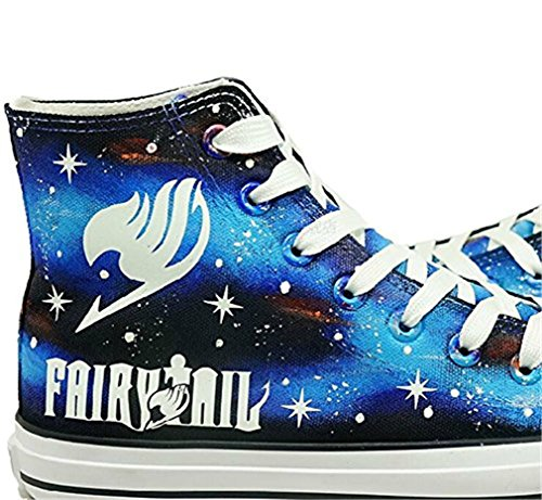Fairy Chaussures Toile Lumineux Sneaker Salut Unisexe top Bromeo Baskets Tail Mode gqBwdS