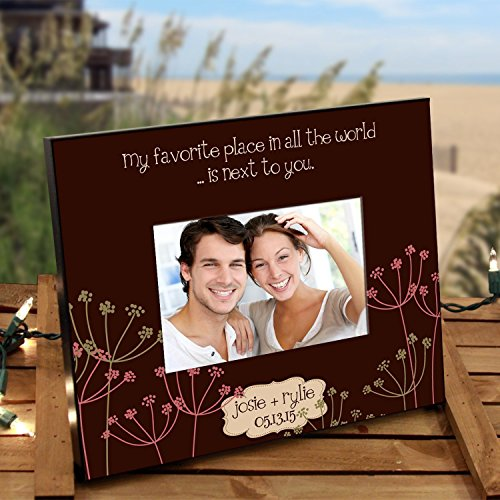Personalized Frame for Couples :: Natural, Sweet Design