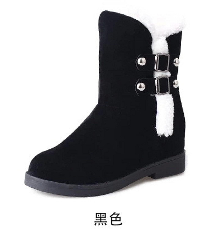 2016 Winter Women Boots Warm Snow Shoes 2 Color US 5-8.5