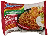 Indo Mie Mi Goreng Instant Noodle, Hot and Spicy, 2.82 Ounce (Pack of 30)
