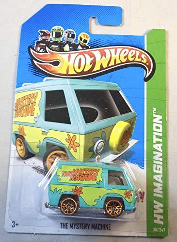 Hot Wheels, 2012 HW Imagination, Scooby Doo! La máquina misteriosa verde 38/247