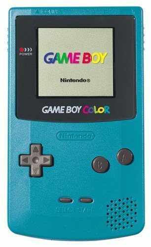 Game Boy Color - Teal (Renewed)