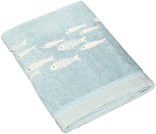 Avanti Linens Nantucket Bath Towel, Mineral (Nantucket Bath Towel)