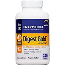 Enzymedica - Digest Gold with ATPro, Optimal Digestive Support, 240 Capsules