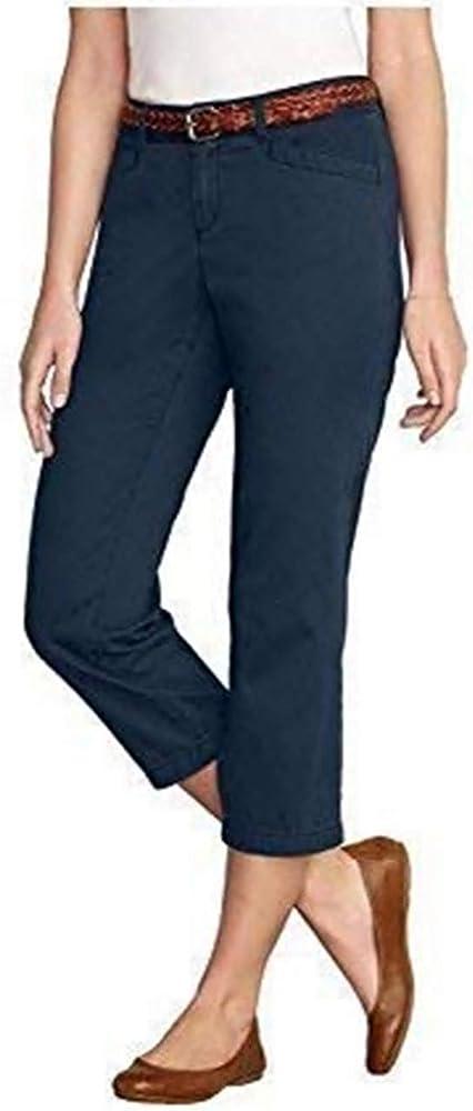 Pantalón 3/4 Mujer de Eddie Bauer - algodón, Azul, 100% algodón ...