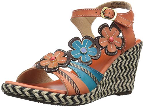 by Step Women's Coral L'Artiste Rhianna Spring Sandals vwzTEnRdq