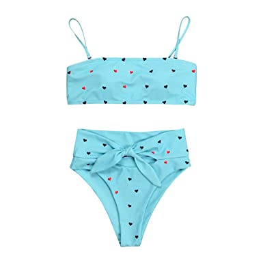 47d35a93f7c7 Qingsiy Bikinis Mujer 2019 Push up con Relleno Sexy Mujeres Amor ...