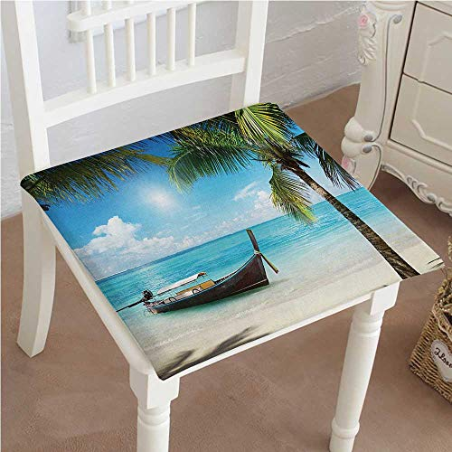 Mikihome Outdoor Chair Cushion Small Boat in The Atlantic Do