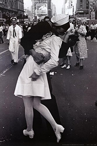 Kissing VJ Day Sailor Poster