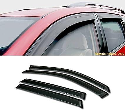 4PC Window Visor Rain Guard Vent Shade Deflector For 2004-2007 Chevy Malibu Maxx