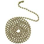 Westinghouse Lighting Corp 3-Feet Bead Chain, Polished Brass