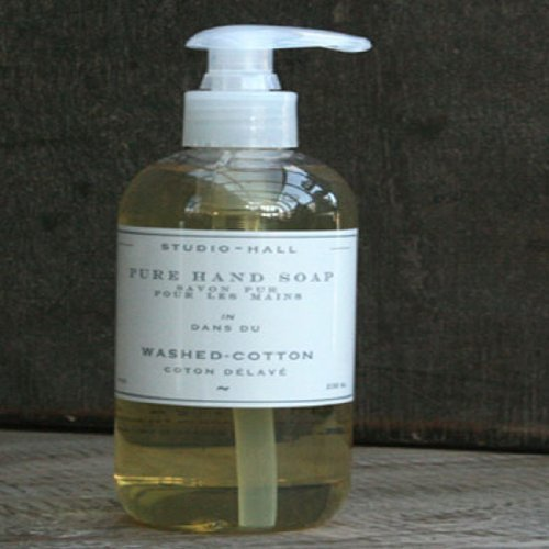 Studio Hall k hall designs Washed Cotton Pure Hand Soap 8oz/236 -