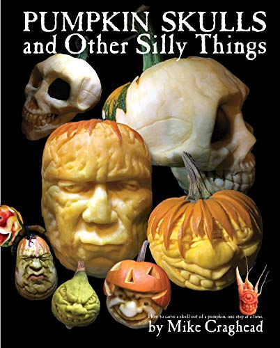 Pumpkin Skulls and Other Silly Things: How to carve a skull out of a pumpkin, one step at a time -