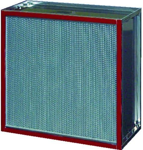 TRUSCO 日本無機 耐熱180度中性能フィルタ 610×610×150 ASTCE2860ES4