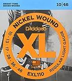 D\'Addario EXL110 Nickel Wound Electric Guitar Strings, Regular Light, 10-46