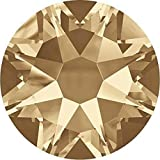 2000, 2058 & 2088 Swarovski Flatback Crystals Non Hotfix Crystal Golden Shadow | SS20 (4.7mm) - Pack of 1440 (Wholesale) | Small & Wholesale Packs | Free Delivery