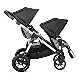 Baby Jogger 2017 City Select Stroller WITH Second Seat (Black/Grey) For Sale