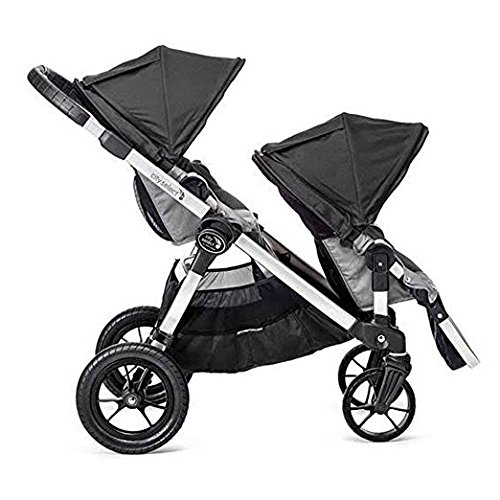 Baby Jogger 2017 City Select Stroller WITH Second Seat (Black/Grey)