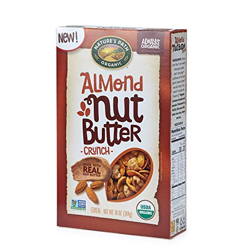 (Nature's Path Almond Nut Butter Crunch Cereal, Healthy, Organic, 10 Ounce Box (Pack of 6))