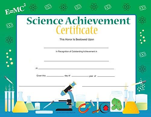 (Science Achievement Recognition Certificates)