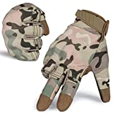 Winter Windproof Tactical Touch Screen Hard Knuckle Military Gloves for Cycling Motorcycle Hunting