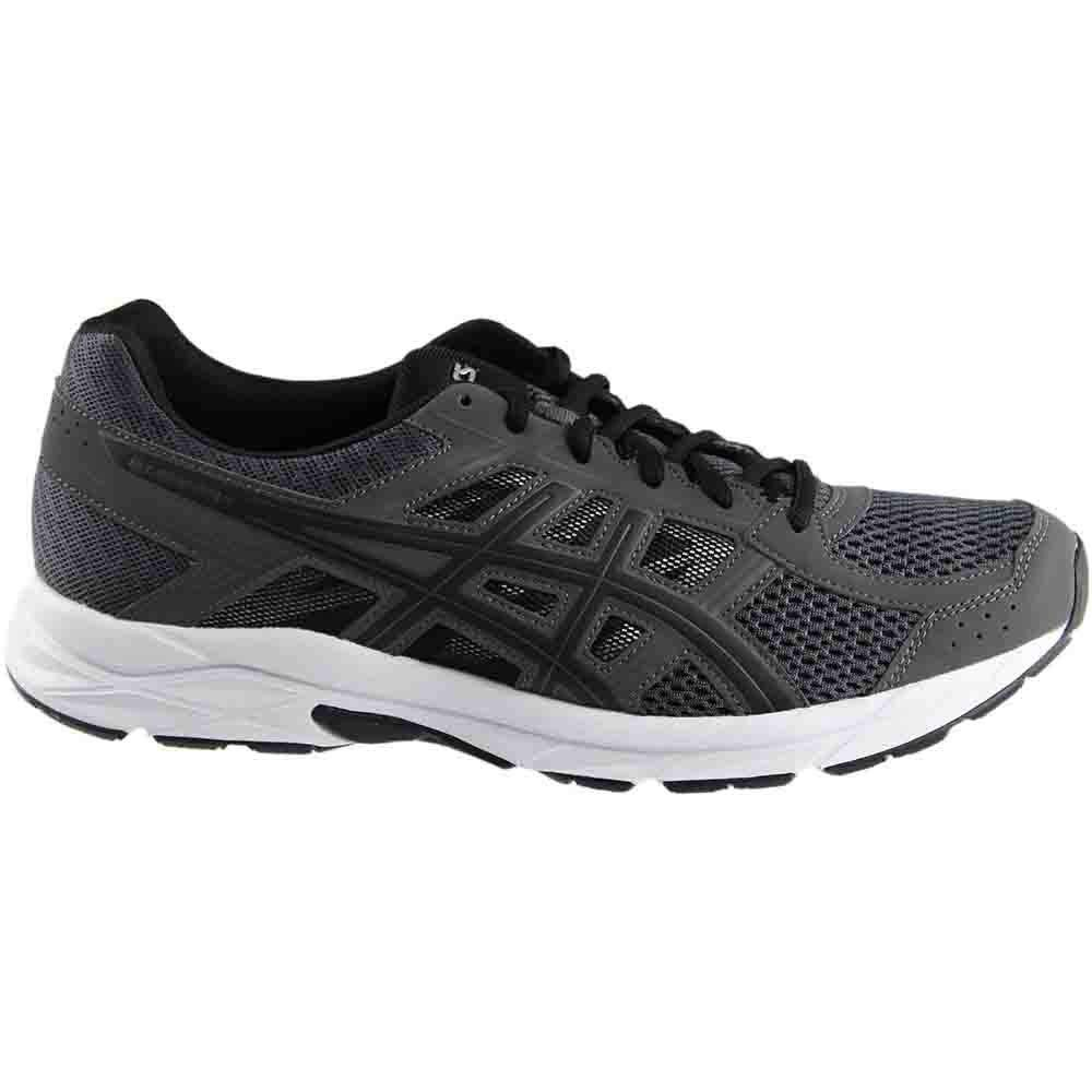 ASICS Mens Gel-Contend 4 Running Shoe Dark Grey/Black/Carbon 7 Medium US by ASICS (Image #2)