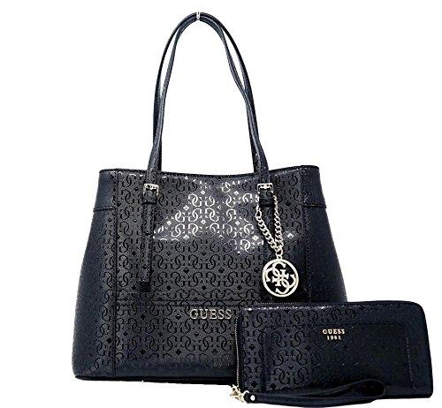 GUESS Delaney Satchel Bag Bag Handbag Purse & Wallet Set by GUESS