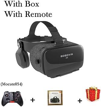 MJTCJY Gafas de Realidad Virtual Casco 3D Auriculares Gafas ...