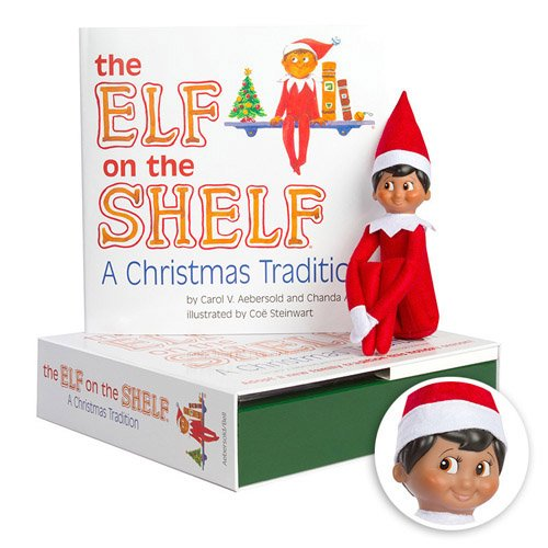 Elf on the Shelf:A Christmas Tradition (brown-eyed boy scout elf) (Elf On The Shelf A Christmas Tradition)
