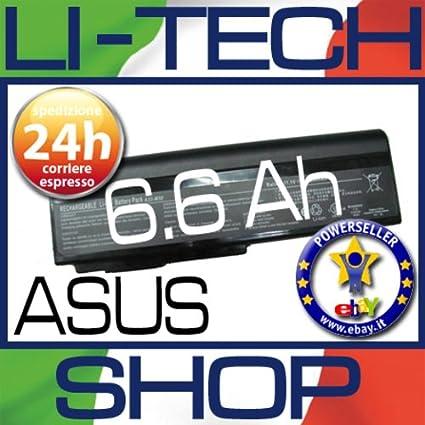 Batería compatible 9 celdas para Asus m50vc-as037 C Ordenador Portatil Pila 6.6 Ah: Amazon.es: Electrónica