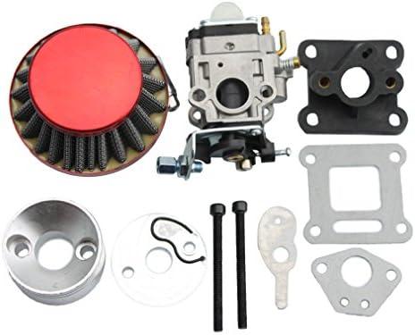 GOOFIT 15mm Racing Carburador Kit Carb Filtro de aire Pila 49cc ...