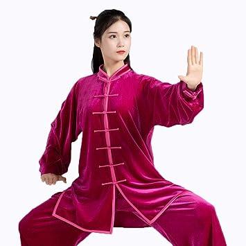 Alqn Traje de meditación unisex Tai Chi Martial Arts Zen Camisa de hombre Artes marciales transpirables