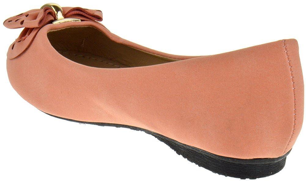 Lucky Top HC 8K Little Girls Bow Ballerina Ballet Flats