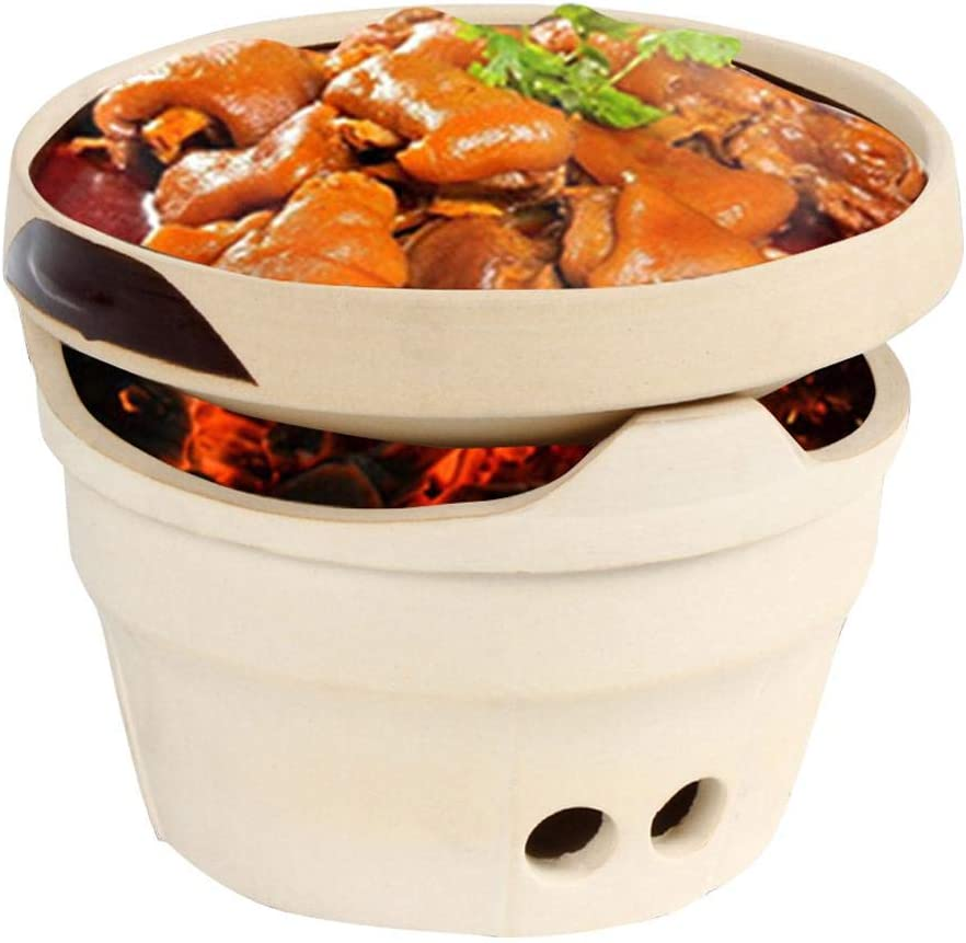 Hainter Grill Furnace Refractory Clay Charcoal Stove Tea Stove Wind Furnace High Temperature Clay Hot Pot Portable Hot Pot